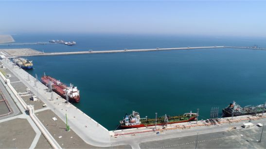 Aerial View of Oil Terminal 2
