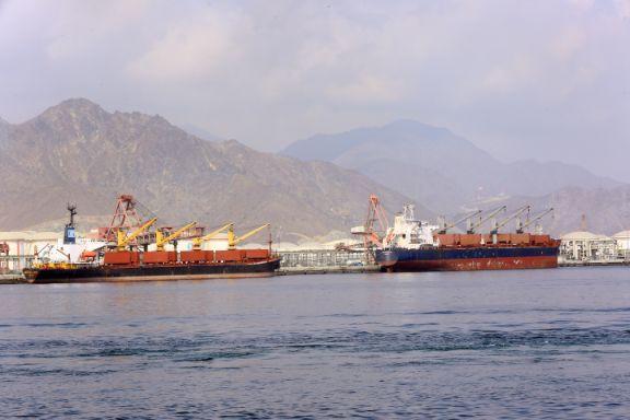 Aggregate Loading at Main Quay -5 & 6