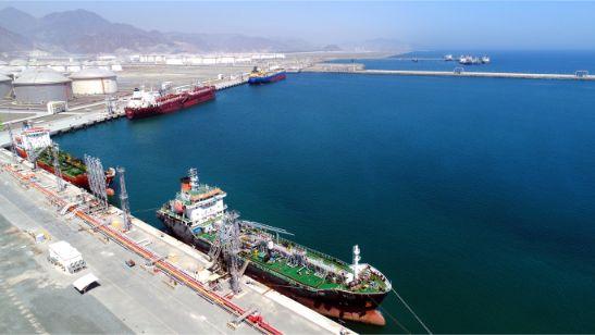 Vessels Alongside OTB-7, 8 & 9