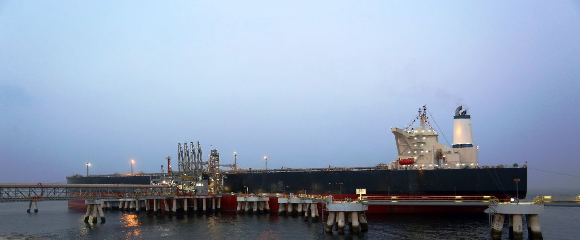 VLCC Discharge Operation